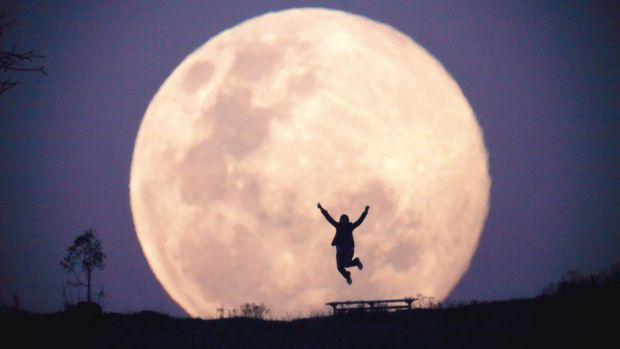 The energy of super moon